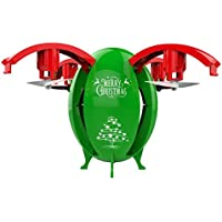 KOBWA Quadcopter Drone, Transformable Egg Drone 2.0 MP HD Camera 2.4GHz Wifi FPV RC Drone Height Hold APP Control for Birthday Christmas Gifts