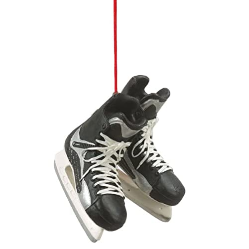 hockey skates christmas ornament