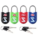 Best Luggage Locks - TSA Compatible Travel Luggage Locks, Alloy body Review