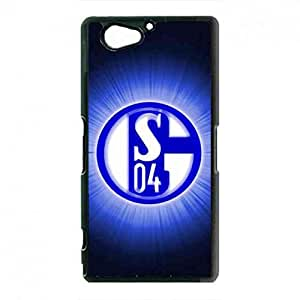 Vintage Style Schalke 04 Football Team Funda Cover For Sony Xperia Z2Mini Schalke 04 FC Logo Funda