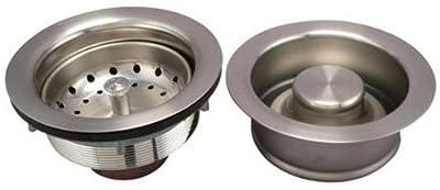 Keeney K5475DSBN Sink Strainer and Garbage Disposal Flange Kit, Brushed Nickel