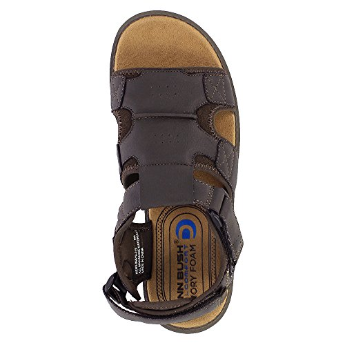 Horse Nunn Sandals Sandal Boardwalk Fisherman Men's Bush Brown Crazy nT8TwqBUxz