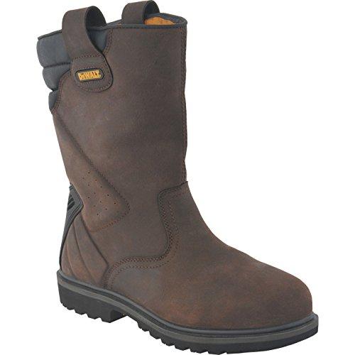 DeWalt Rigger Safety Work Boots Size 12 Brown