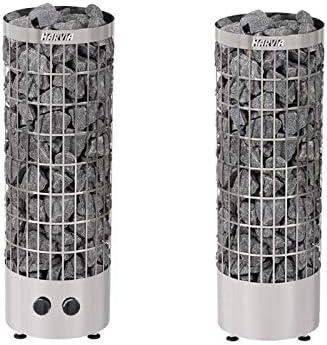 Harvia Estufa de Sauna eléctrica Cilindro PC90 9,0 kW para saunas Familiares 8-14 m³