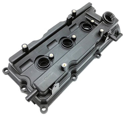 Engine Motor Valve - OKAY MOTOR Front Engine Valve Cover W/Gasket for Nissan Altima Maxima Murano Quest 3.5L