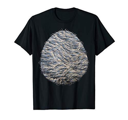 Halloween Wolf Costume Belly Shirt T-Shirt