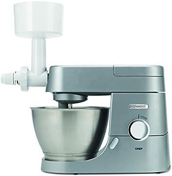 Kenwood KAX941PL Accesorio molinillo de cereales compatible con robots de cocina Kenwood Chef y Kmix, plástico, color blanco: Amazon.es: Hogar