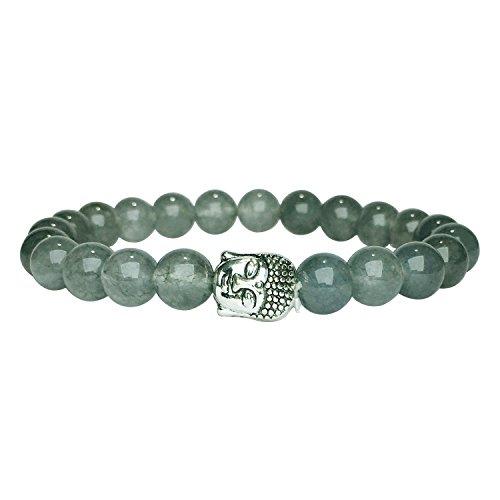Satyamani Natural Iolite Buddha Bracelet