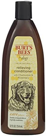 Dog Grooming: Burt's Bees Relieving Conditioner