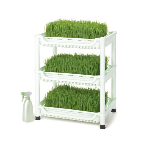Tribest Sproutman's Soil-Free Wheatgrass Grower NEW SM350 (Grass Wheat Sproutman)