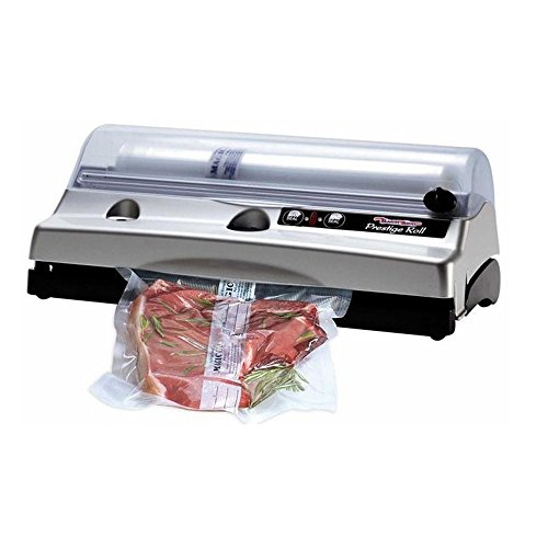 European Magic Vac Prestige Roll Household Food Vacuum Sealing System Sealer Kit bags (Vac Magic Rolls)