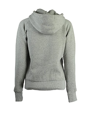 Geographical Norway - Sweat à capuche Femme Geographical Norway Gosepha Gris clair