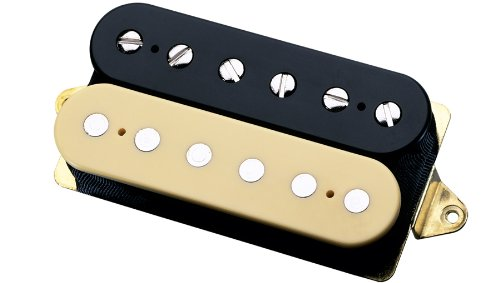 DiMarzio DP155 Tone Zone Humbucker Pickup Black and Cream Regular