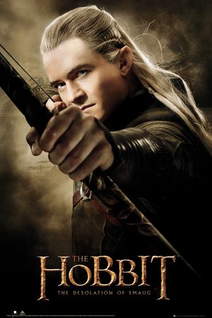 The Hobbit Poster Legolas The Desolation of Smaug