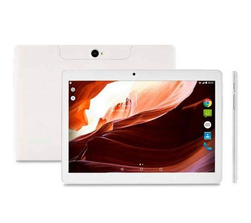 "Tablet M10A Quad Core Android 7.0 Dual Câmera 3G e Bluetooth, Multilaser, NB254, 16 GB, 10"", Branco"