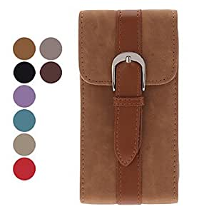 xiao PU Leather Case with Belt for Samsung Galaxy S3 I9300 (Assorted Colors) , Black