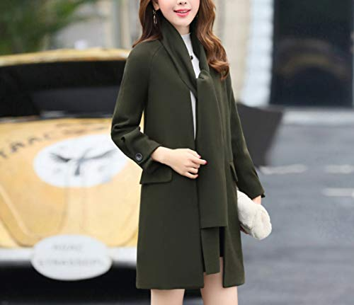 lana Jasper cotone e caldo autunno con Ab donna Jasper di inverno autunno donne inverno Cappotto per sciarpa lunga le Iwqa0