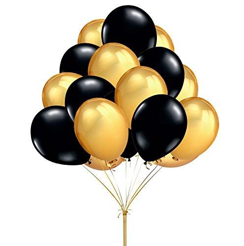 fecedy-12-100pcs-gold-black-round-balloons