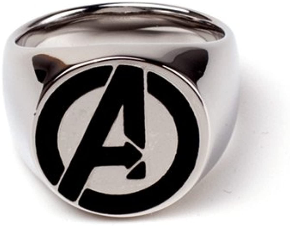 Avengers Classic Ring Signet Silver-M