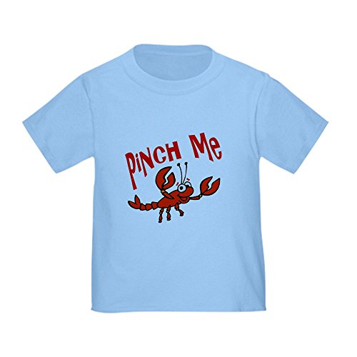 CafePress Kids Crawfish Designs Toddler T-Shirt Cute Toddler T-Shirt, 100% Cotton Baby Blue ()