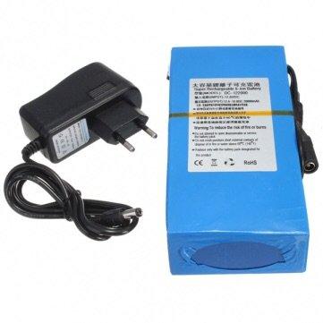 Lithium Battery Pack >> Amazon Com Dc 12v 20000mah Super Rechargeable Portable Lithium Ion