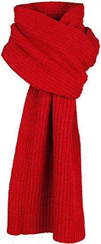 Ribbed Wool Scarf - 9