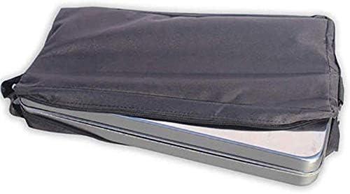 Barbecue HZY Grill Charbon Portable, Pliant extérieure en Acier Inoxydable Grill Camping, 31x31x22cm