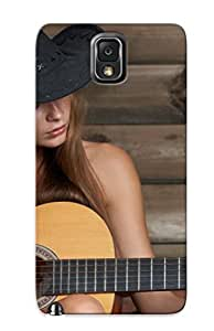 New Style pc Note 3 Protective Case Cover/ Galaxy Case - Brunees Women Wood Models Acoustic Guitars Guitars Nude Erroticaarchives Magazine Hats Indianastrategic Covering Cowboy Hats Watch