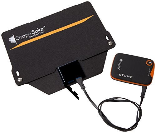 Grape Solar GS-GoPower8-KIT GoPower 8 Portable Device Charging Kit