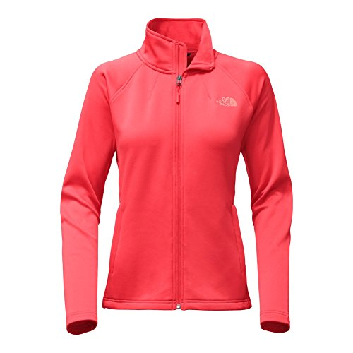 The North Face Red Fleece (The North Face Women's Momentum Full Zip Fleece Cayenne Red M)
