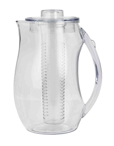 Deluxe Pitcher with Infusion Flavor Water 2 Liter BPA Free