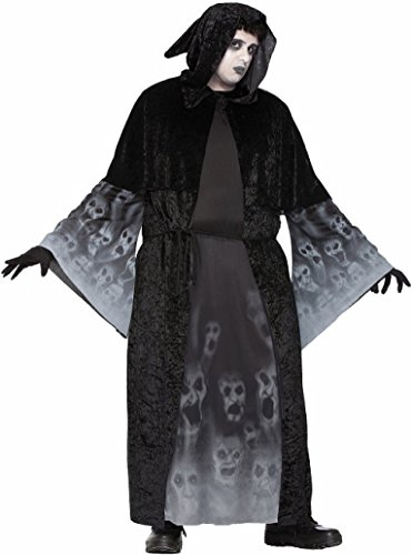 Forum Men's Size Forgotten Souls Costume, Multi/Color, (Mens Plus Size Ghost Face Costumes)