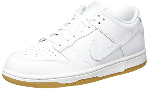 Women Nike Dunk Low (NIKE Womens Dunk Low Trainers 311369 Sneakers Shoes (UK 6 US 8.5 EU 40, White Pure Platinum 100))
