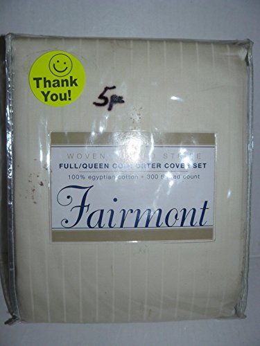 5pc-fairmont-woven-tuxedo-stripe-full-queen-comforter-cover-duvet-set