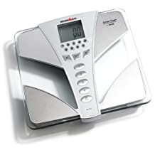 Tanita Ironman BC554 Glass InnerScan Body Composition Monitor Elite Series, Silver