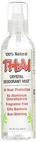 - Thai Deodorant Stone Crystal Deodorant Mist, 8 Ounce - 6 per case.