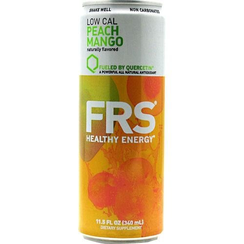 FRS Energy Drink Low Cal Peach Mango 12 cans-11.5 fl. (340 ml)