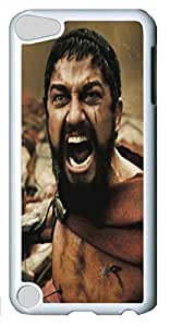 Creative 300 Leonidas Custom iPod Touch 5 Case Cover Polycarbonate White