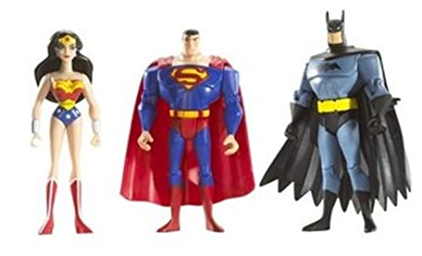 """JUSTICE LEAGUE UNLIMITED AQUAMAN WITH CAPE 4.5/"""" ACTION FIGURE"""