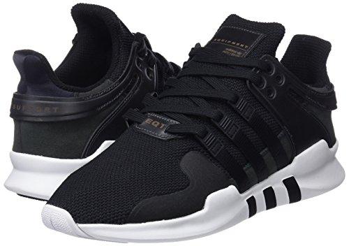 Scarpe Basse Adidas Uomo Sneakers Bb1295 Eqt Support Adv Nero-bianco