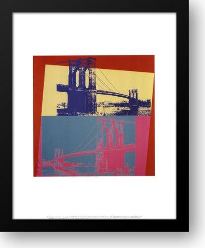 Brooklyn Bridge, 1983 15x18 Framed Art Print by Warhol, Andy