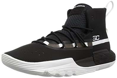 Under Armour UA SC 3Zero II Erkek Basketbol Ayakkabı Siyah 42.5