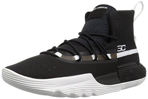 - Under Armour Men's SC 3ZER0 II Basketball Shoe, Black (001)/White, 9