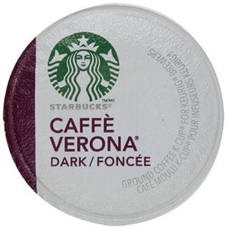 Starbucks Caffe Verona, Gourmet Coffee, Coffee, Dark Coffee, K-Cup Brewers (Starbucks Cafe)