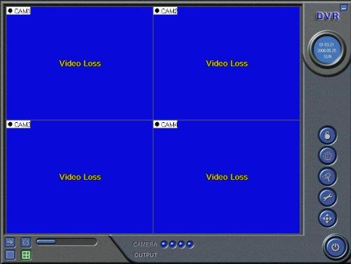 VideoSecu 4 CH USB 2.0 DVR PC Digital Audio Video Security Camera Surveillance Recorder 1OZ
