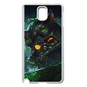 Samsung Galaxy Note 3 Cell Phone Case White League of Legends Omega Squad Teemo KWI8879088KSL