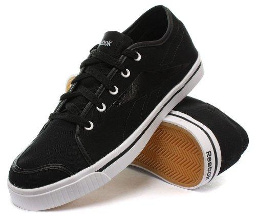 Reebok - Zapatillas de Tenis de lino Hombre Multicolor - Black/White