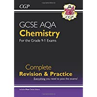 New Grade 9-1 GCSE Chemistry AQA Complete Revision & Practice with Online Edition (CGP GCSE Chemistry 9-1 Revision)