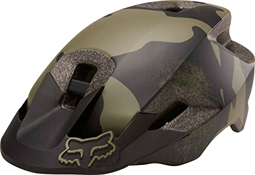 Fox Racing Ranger Helmet Green Camo, - Mountain Bike Helmets Fox