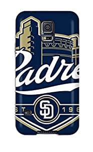 SuzanneW Snap On Hard Case Cover San Diego Padres Protector For Galaxy S5